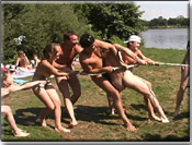 Naturist family nudist games