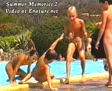 nudist camp pool party and gay